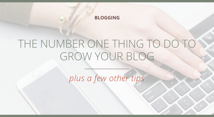 The Number One Thing to do to Grow Your Blog (plus a few other tips)  |  The Social Walker Agency