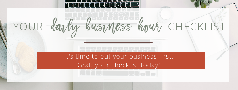 Daily Business Hour Checklist | The Social Walker