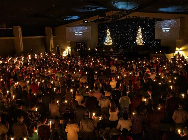 Silent night, holy night. Son of God, love's pure light. We enjoyed spending time with each person that joined us for our Christmas Eve services!  Such a special time together.  Merry Christmas! 🎄
