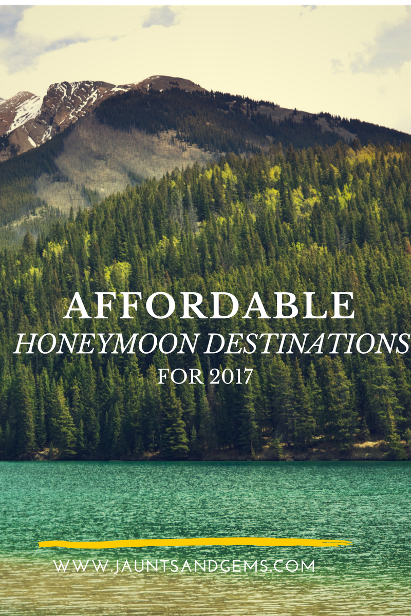 affordable honeymoon