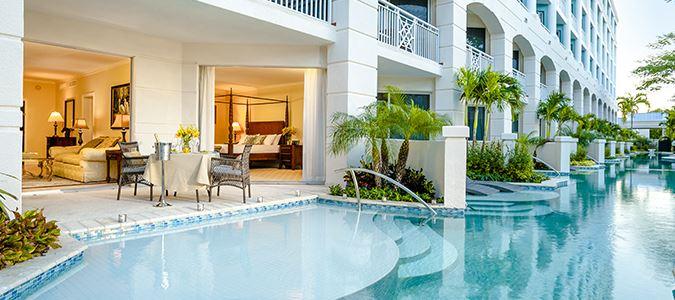 sandals swim up suite