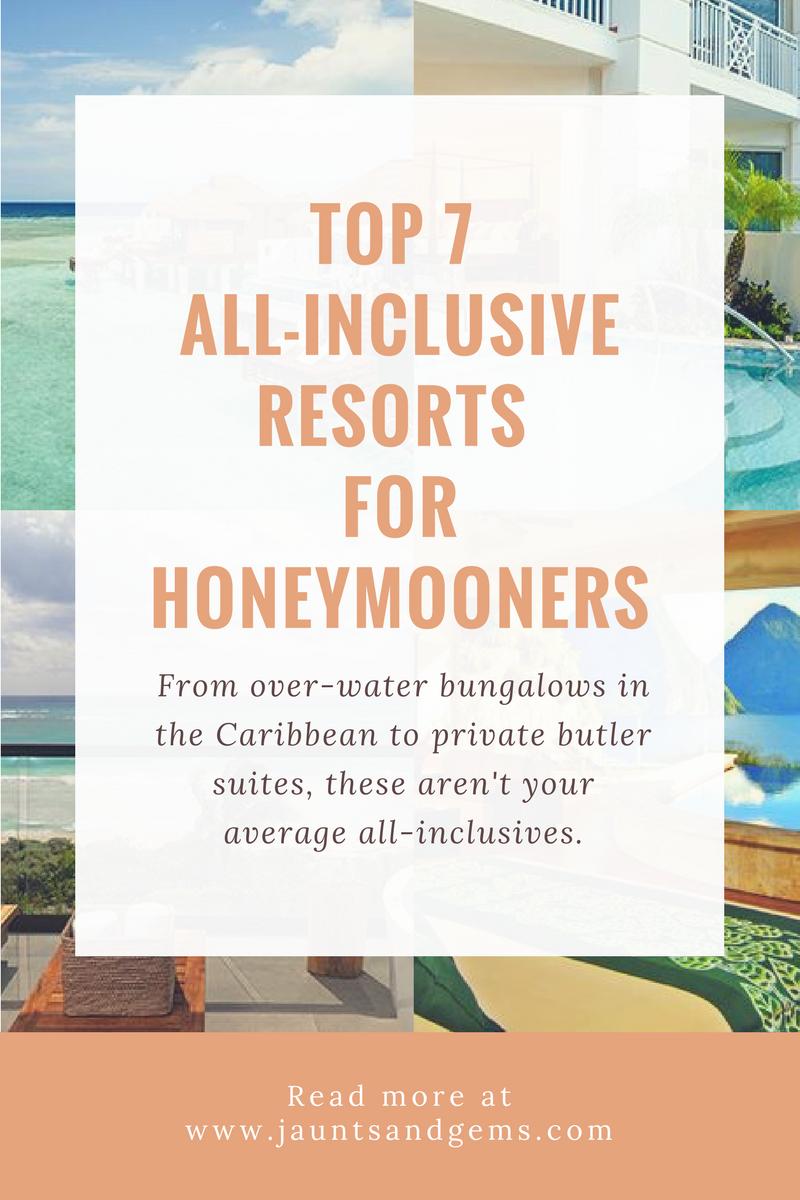 7 All-Inclusive Resorts for Honeymooners