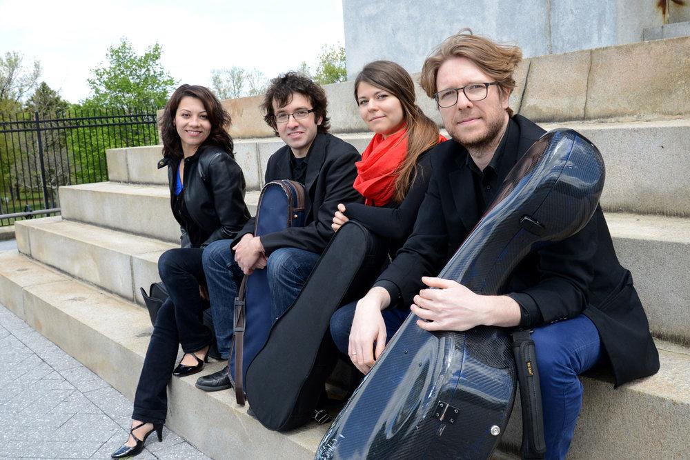 Yaira Matyakubova (violin);Gregory Tompkins (violin);Annalisa Boerner (viola);Philip Boulanger (cello).