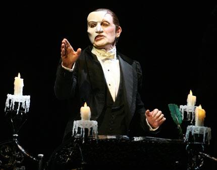 Brent Barrett in  The Phantom of the Opera