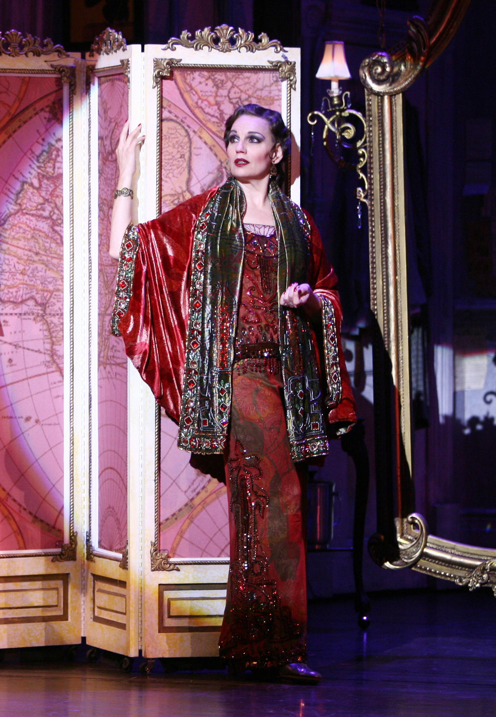 Beth Leavel in  The Drowsy Chaperone