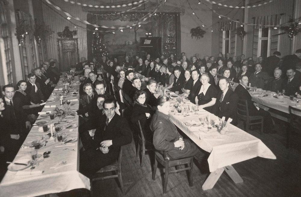 Fra selskapets 50-årsjubileum i 1946