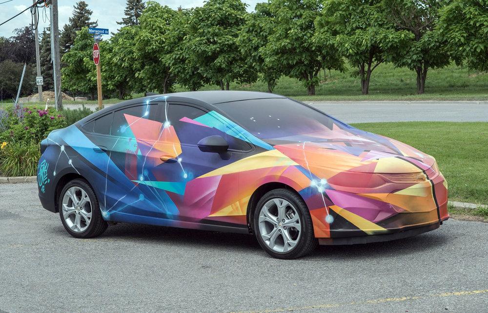 ANKHONE - Custom art Chevrolet Toronto 2017