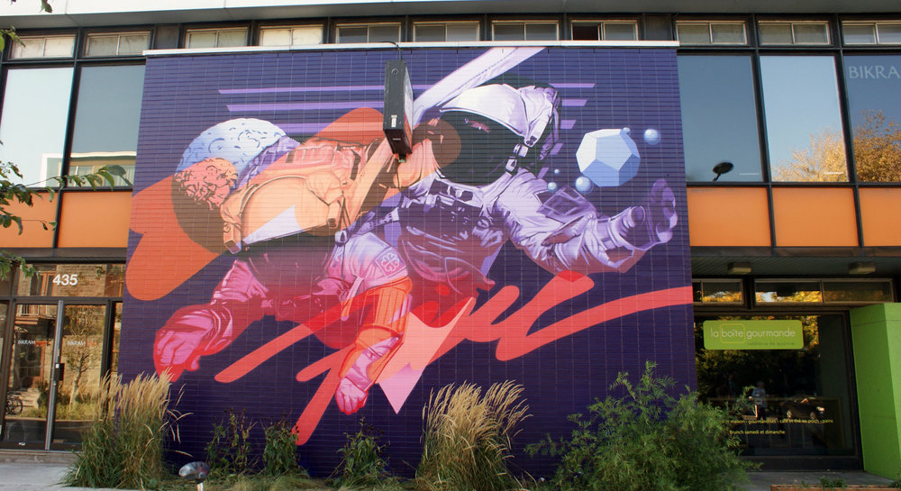 Ashop-Five8-Exterior mural-Montreal-2014