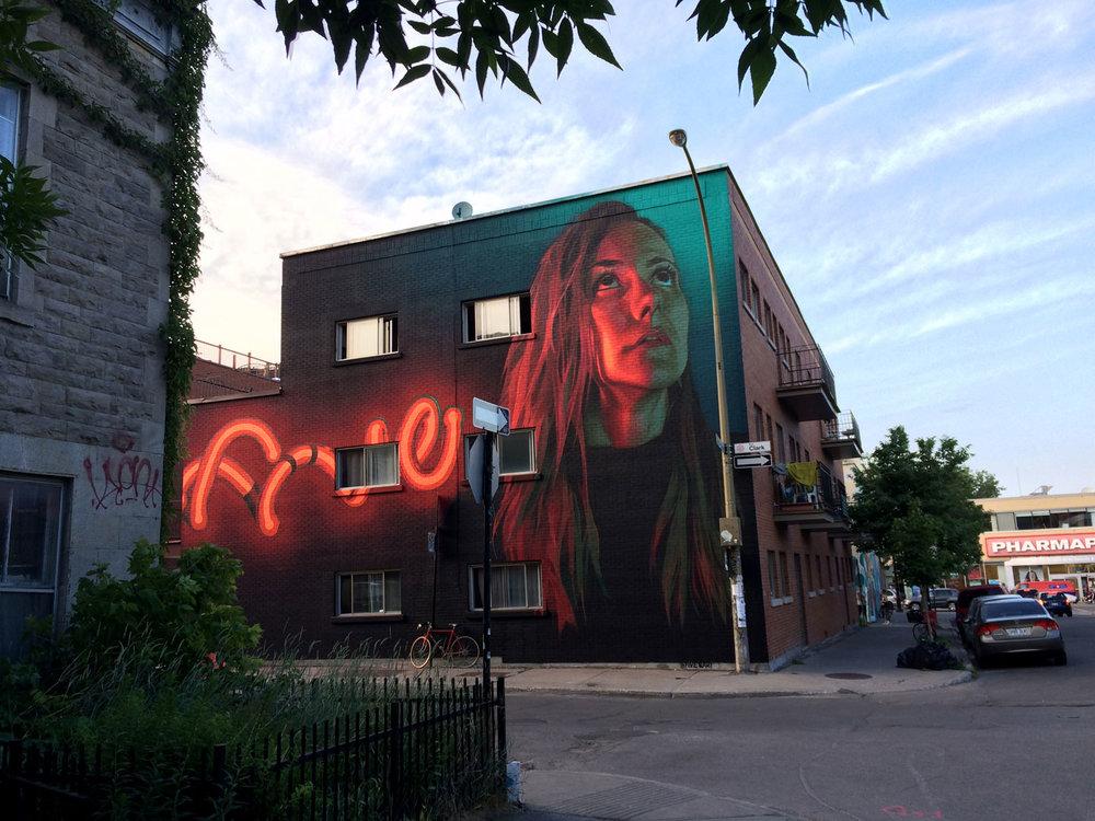 Ashop-Five8-Exterior mural-Montreal-2016