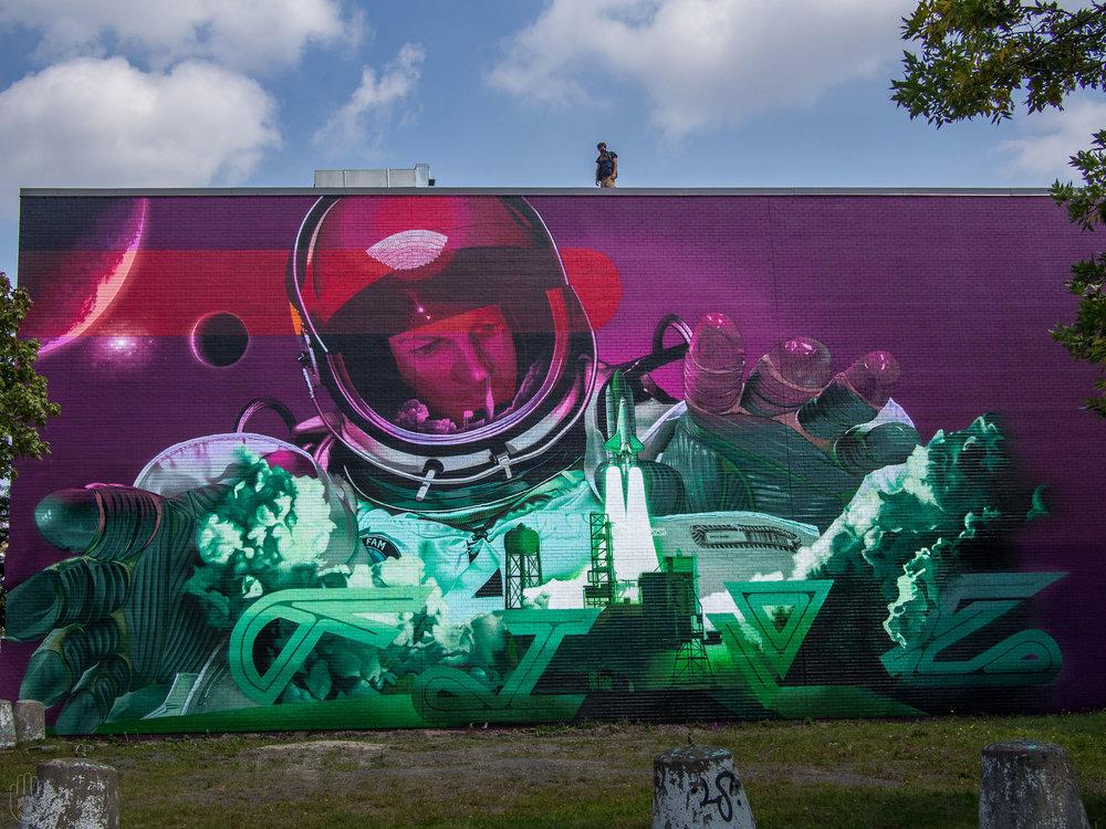 Ashop-Five8-Exterior mural-Montreal-2015