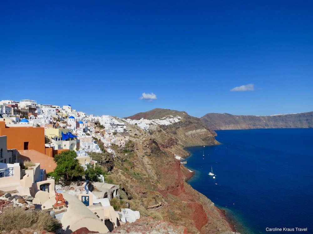 Town of Fira on Santorini