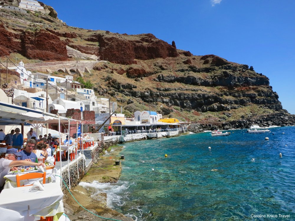 Ammoudi Bay, Santorini, Greece
