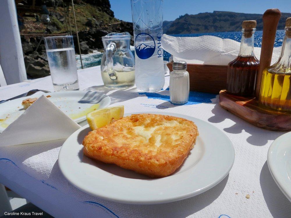 My favorite dish in Santorini, Greece