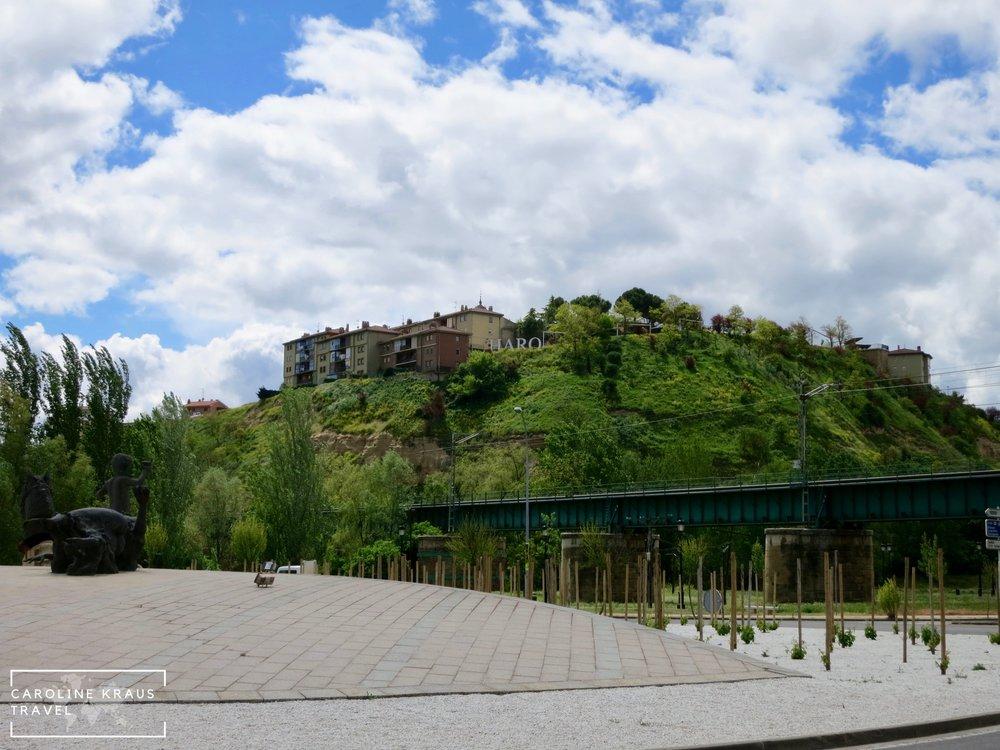 Town of Haro in La Rioja, Spain