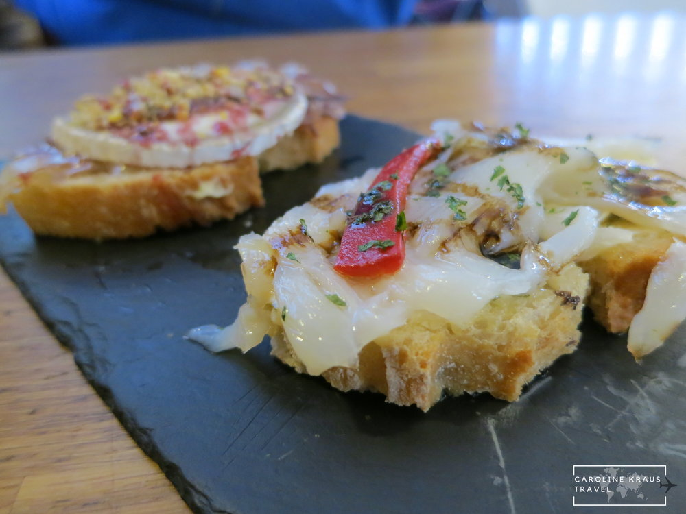 Pintxos in San Sebastian, Spain