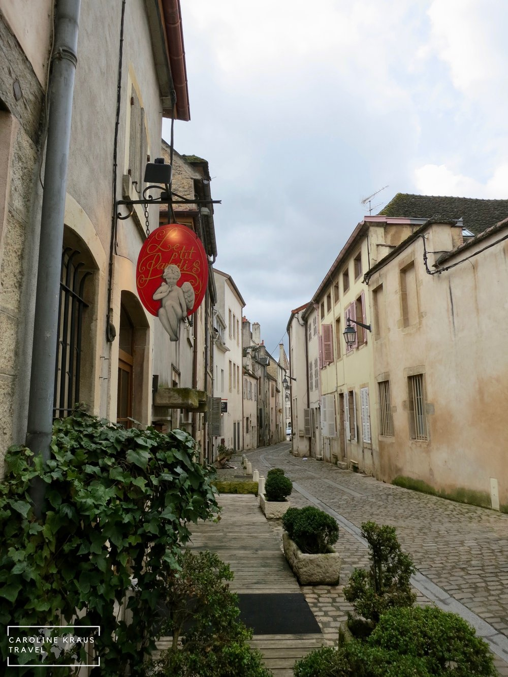 The streets of Beaune