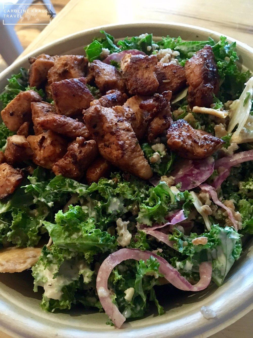 Salad at Roots Natural Kitchen