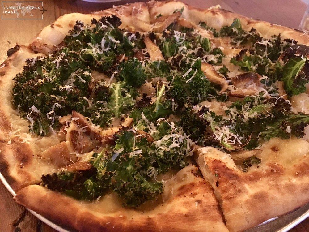 Pizza at Oakheart Social