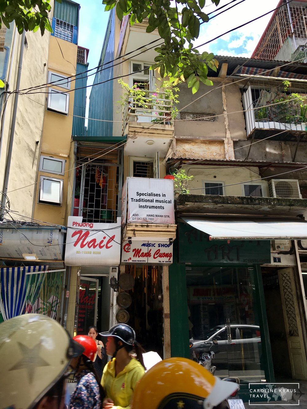 The most narrow building in Hanoi
