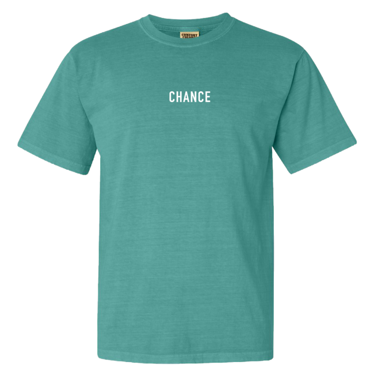 Green Chance Te. Available in Red, White, Blue, Black, and Yellow also for $35 as of posting.