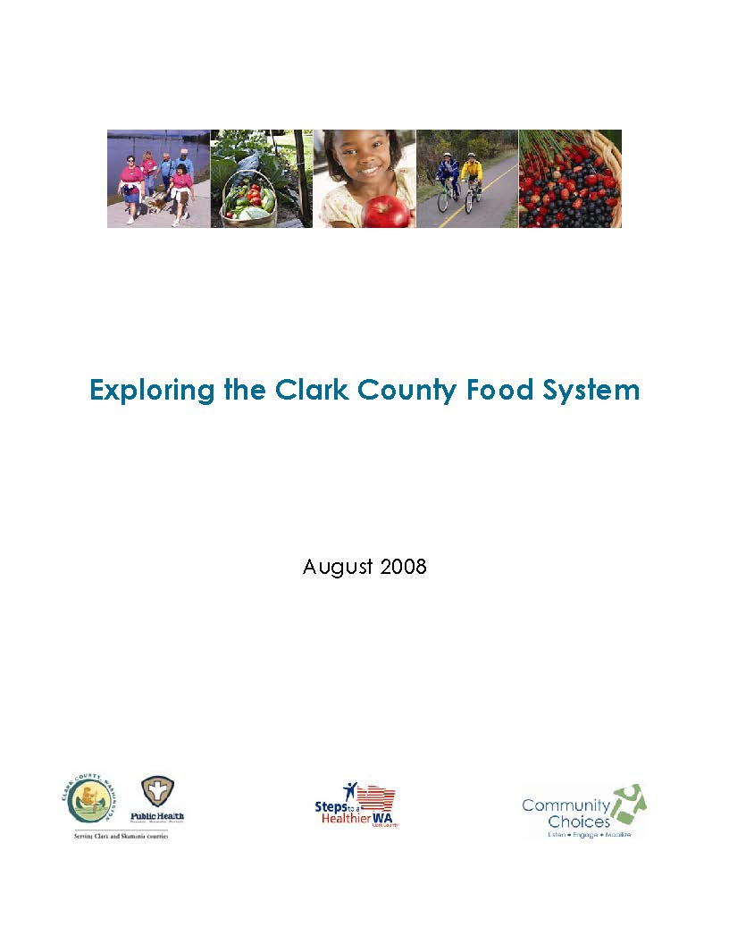 Exploring the Clark County Food System