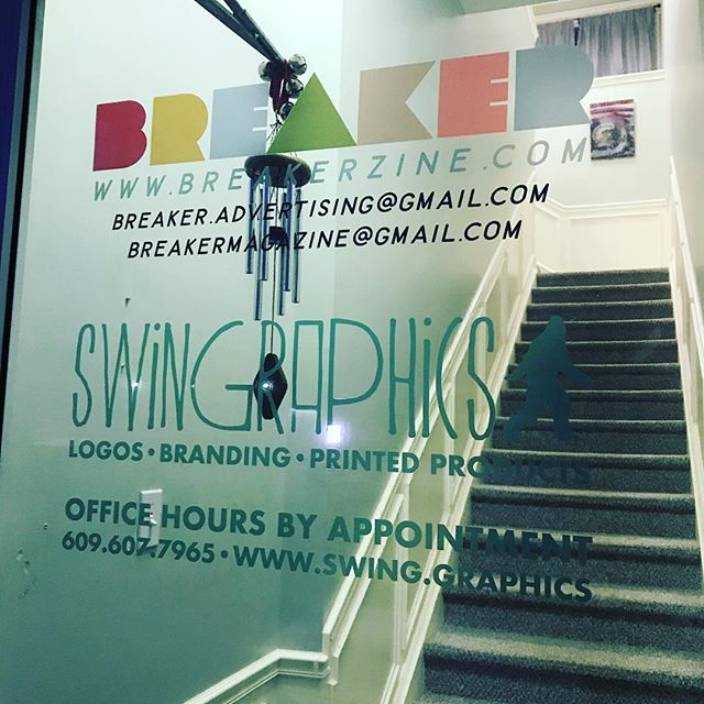 Our office in Ship Bottom is open by appointment. Need graphics, printed items or advertising? Let's get your business ready for 2019! Call us to set up your appointment. 609.607.7965 #officehours #byappointment #design #graphicdesign #swinggraphics #breaker #breakerzine #magazine #advertising #swinginto2019 #yoursuccessisourbusiness