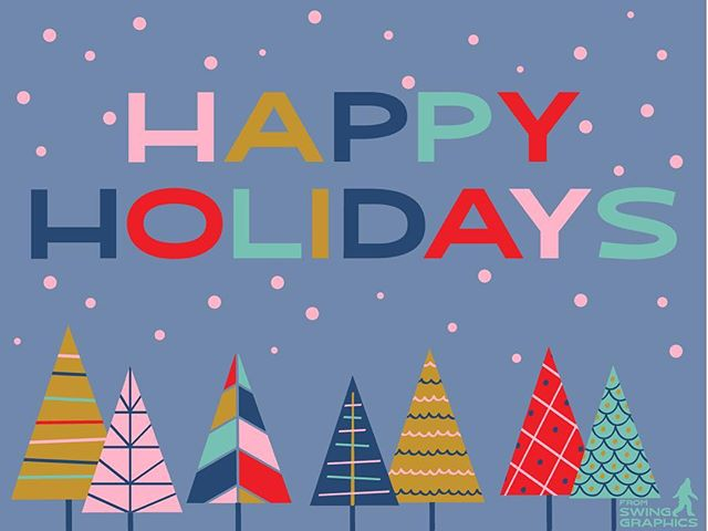 Happy Holidays, from our hearts to yours. We wish you all happiness and health in the coming year.  #happyholidays #happyholidays2018 #swinggraphics #graphicdesign #graphicdesigninthe609 #yoursuccessisourbusiness #swinginto2019 #5years #holiday #holidays #happy #love #health #happiness #goodness #thankful #squatchyourself #squatchout