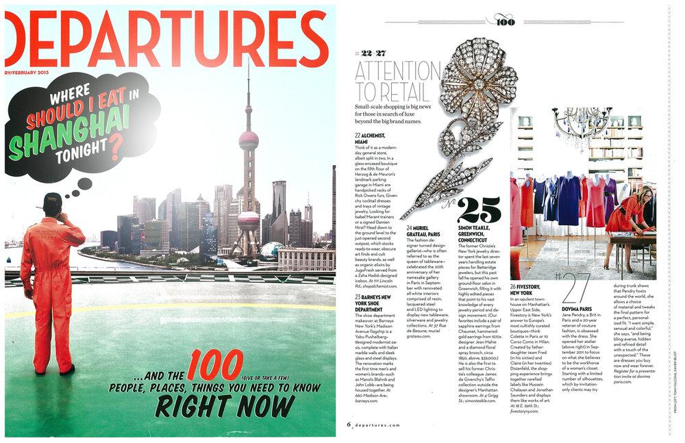 Departures January 2013 website