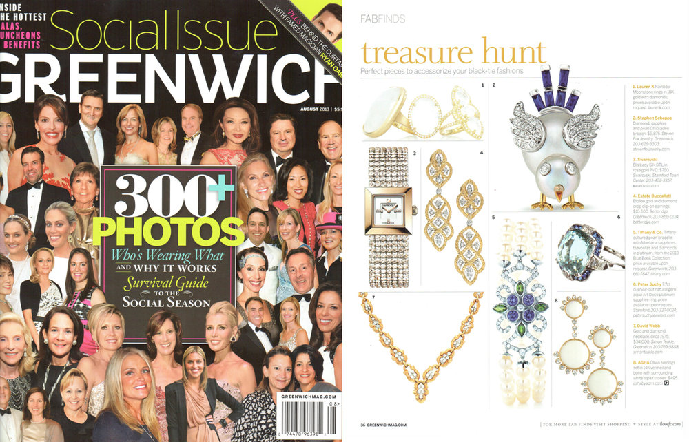 Greenwich Mag Aug 2013