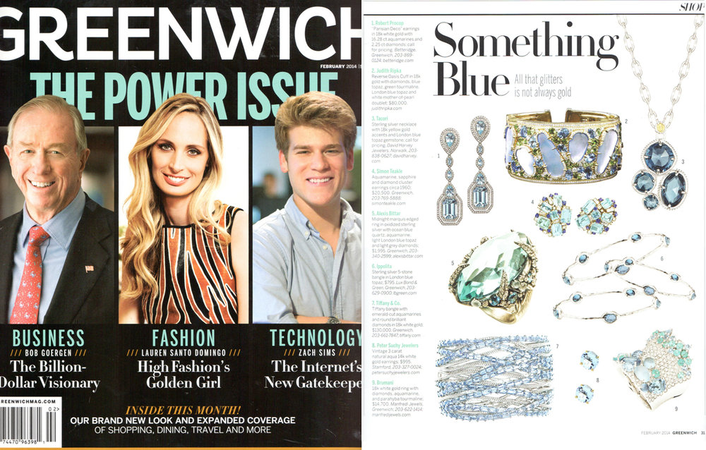 Greenwich magazine February 2014 site