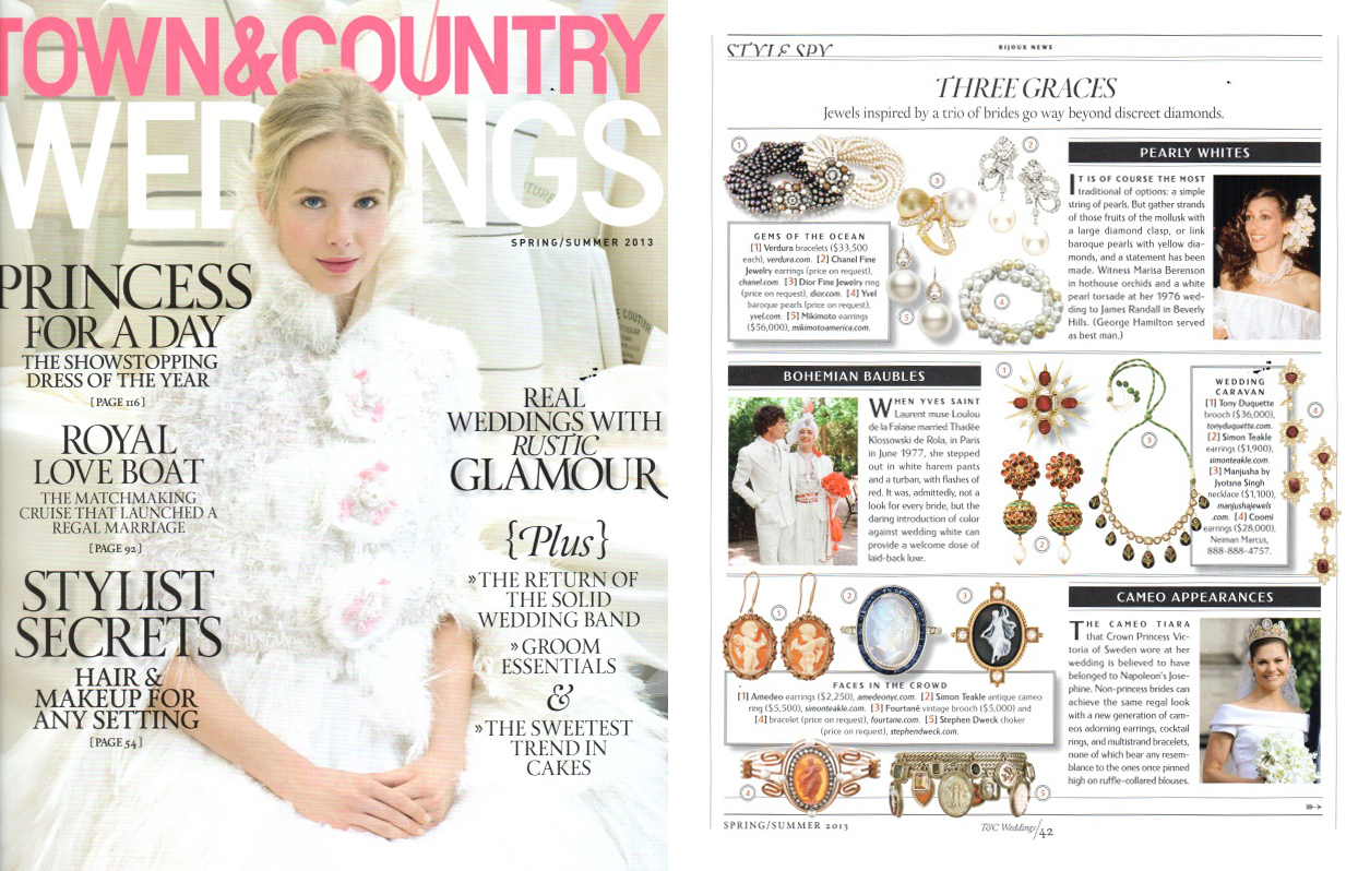 Town and Country Weddings spring-summer 2013