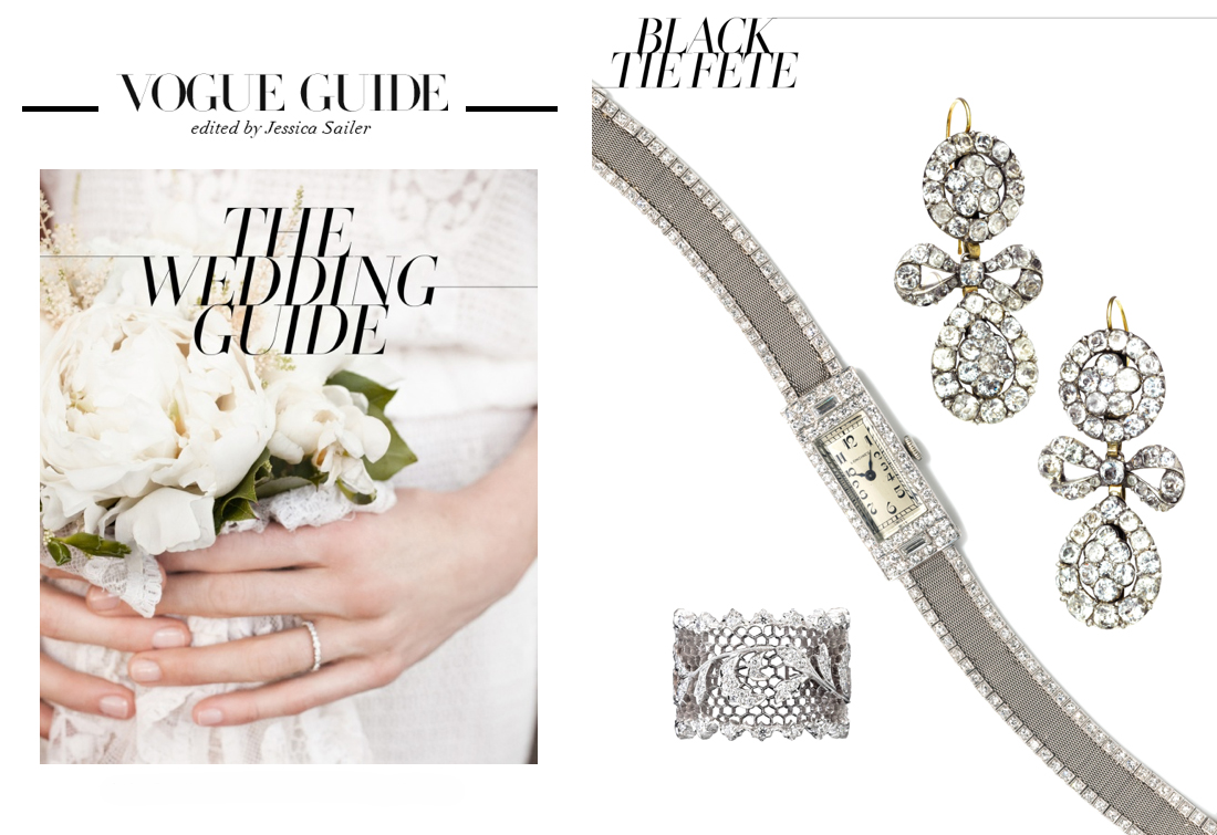 Vogue online wedding guide June 2013
