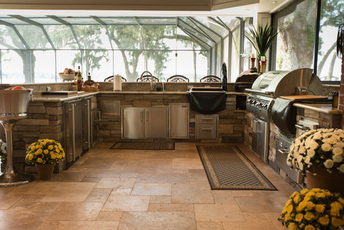 outdoor kitchens outdoor kitchens are becoming one of the most popular options for an outdoor room - Backyard Designs