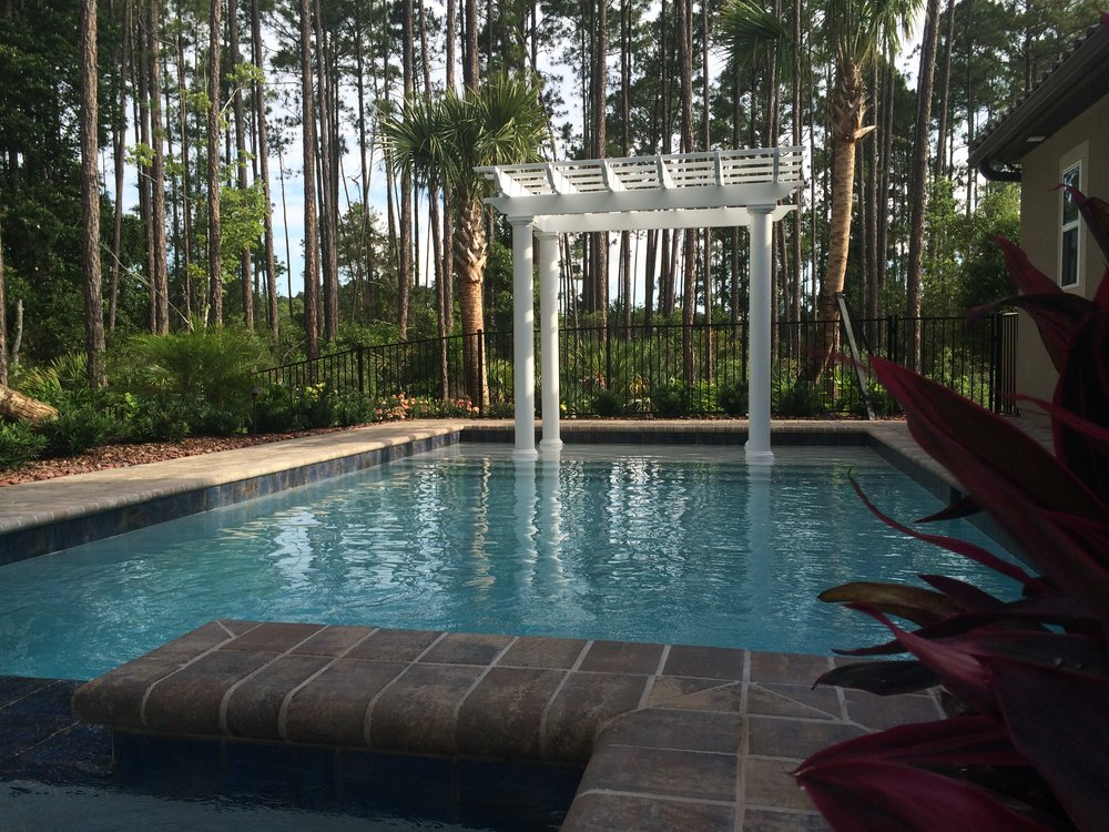 Pergolas & Cabanas   Florida sun can be brutal and what better way to provide shade for your outdoor living space than a stunning pergola or statement making cabana.