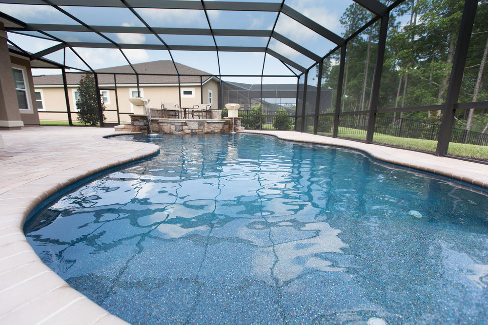 Custom Pools & Spas   With over 30 years combined experience building pools in Northeast Florida, you can be assured that every detail will be taken care of by our expert team.