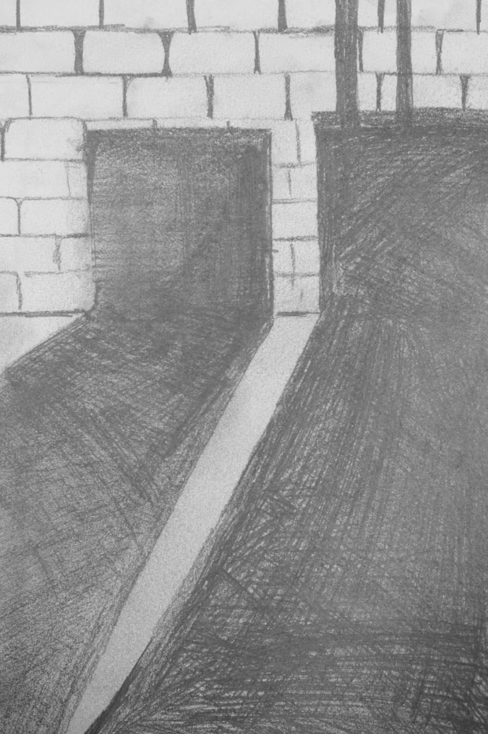 Sketchbook assignment sample.