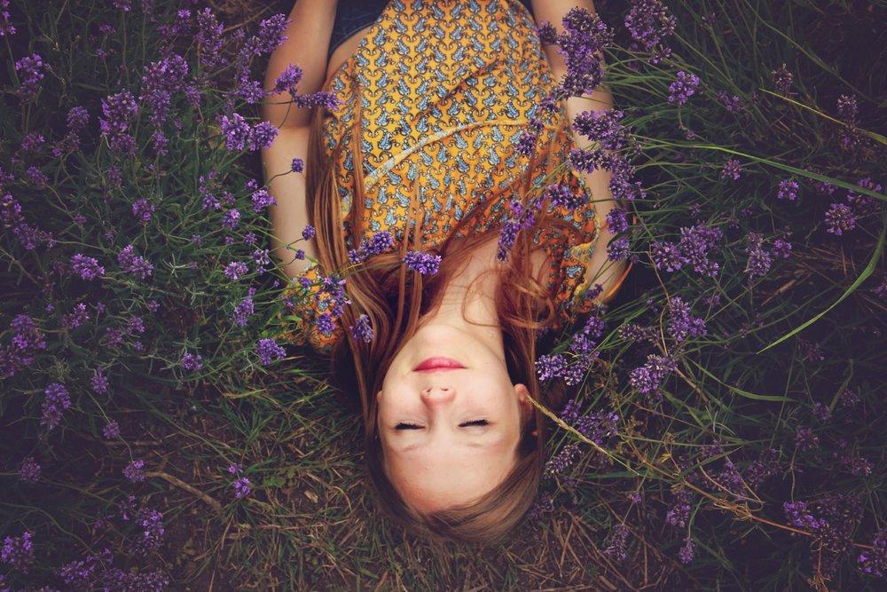 teenage psychic girl