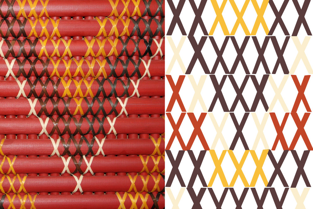 The brand logo takes its cues from the colour and texture of the ornate, red wooden carved bargeboards of the meeting house (wharenui).    The bold visual device derives from the crosses of the woven tukutuku panels that feature on the interior walls of the meeting house. These layer with a symbolic 'M' shape which, in Māori, denotes unity and a coming together, for a deeper cultural meaning. The device has the flexibility to be amended in size, shape and colour, and adapt to different products and formats for any future developments.    Integral to the core idea of Manaaki are the 'Aunties'. These are the women of the marae, going back generations, who have grown, harvested and made the recipes according to traditional methods for their families. The strapline 'Made by the Aunties' champions their importance to the brand. Coats saw the opportunity to add further provenance by using one of the Aunties' handwriting for all variant typography, adding that extra handmade touch.    With its compelling origin story, Manaaki is a true Māori experience, engineered for the modern consumer.