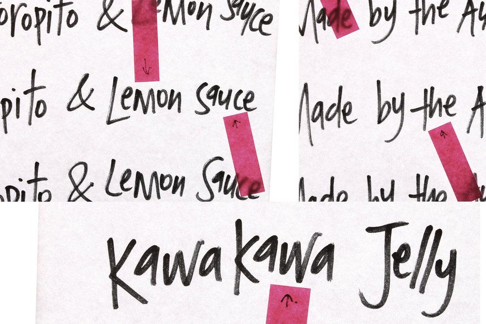 Manaaki Handwriting
