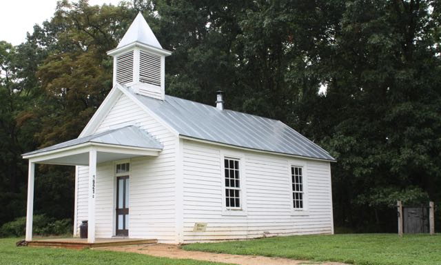 Whitmer School House and Cove Mennonite Church