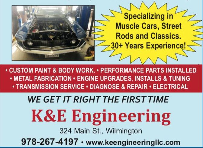 These guys are great! Kevin & Evan are the epitome of passionate craftsmen - and they're young enough to keep us old gassers on the road for a long time! Give'em a call!