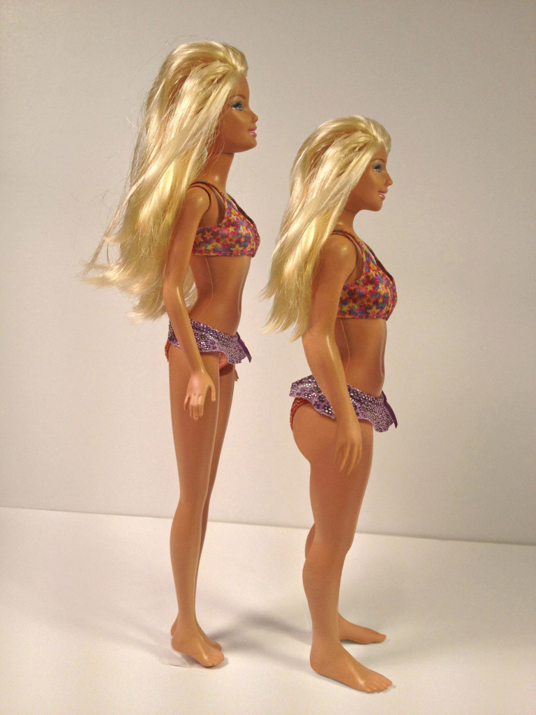 Where is the male counterpart? Do only girls need proportionally human dolls? (Photo via Lammily.com)