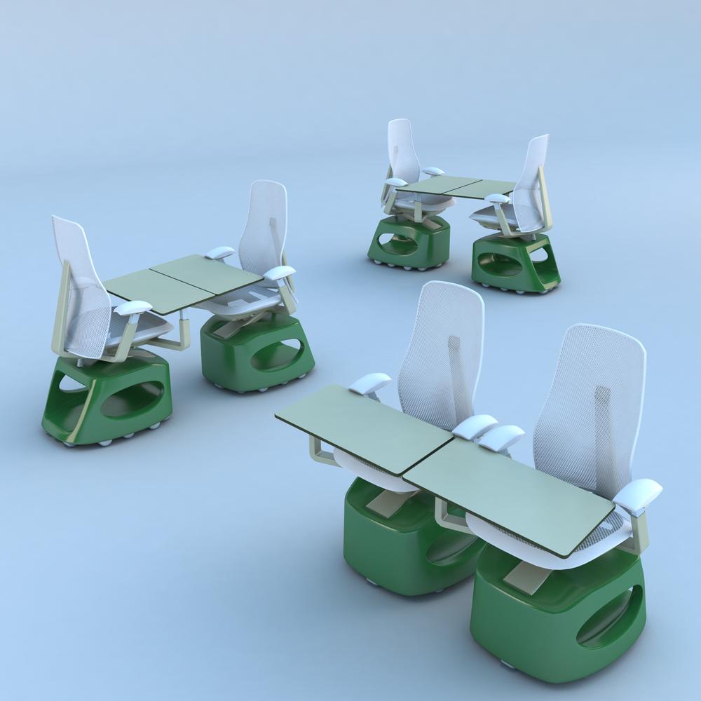 Stella Link Chair — pair