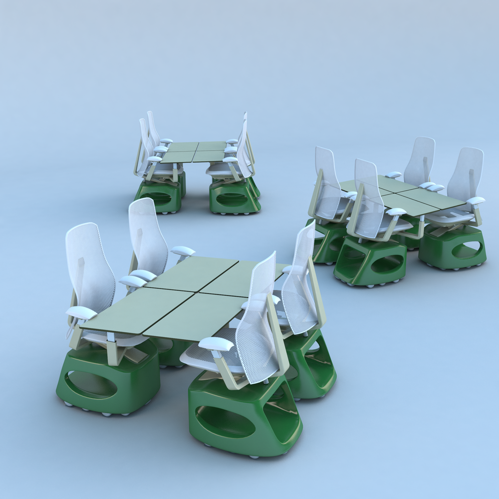 Stella Link Chair — quad