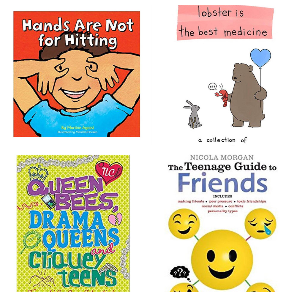 Books with behaviour morals (2-15years)