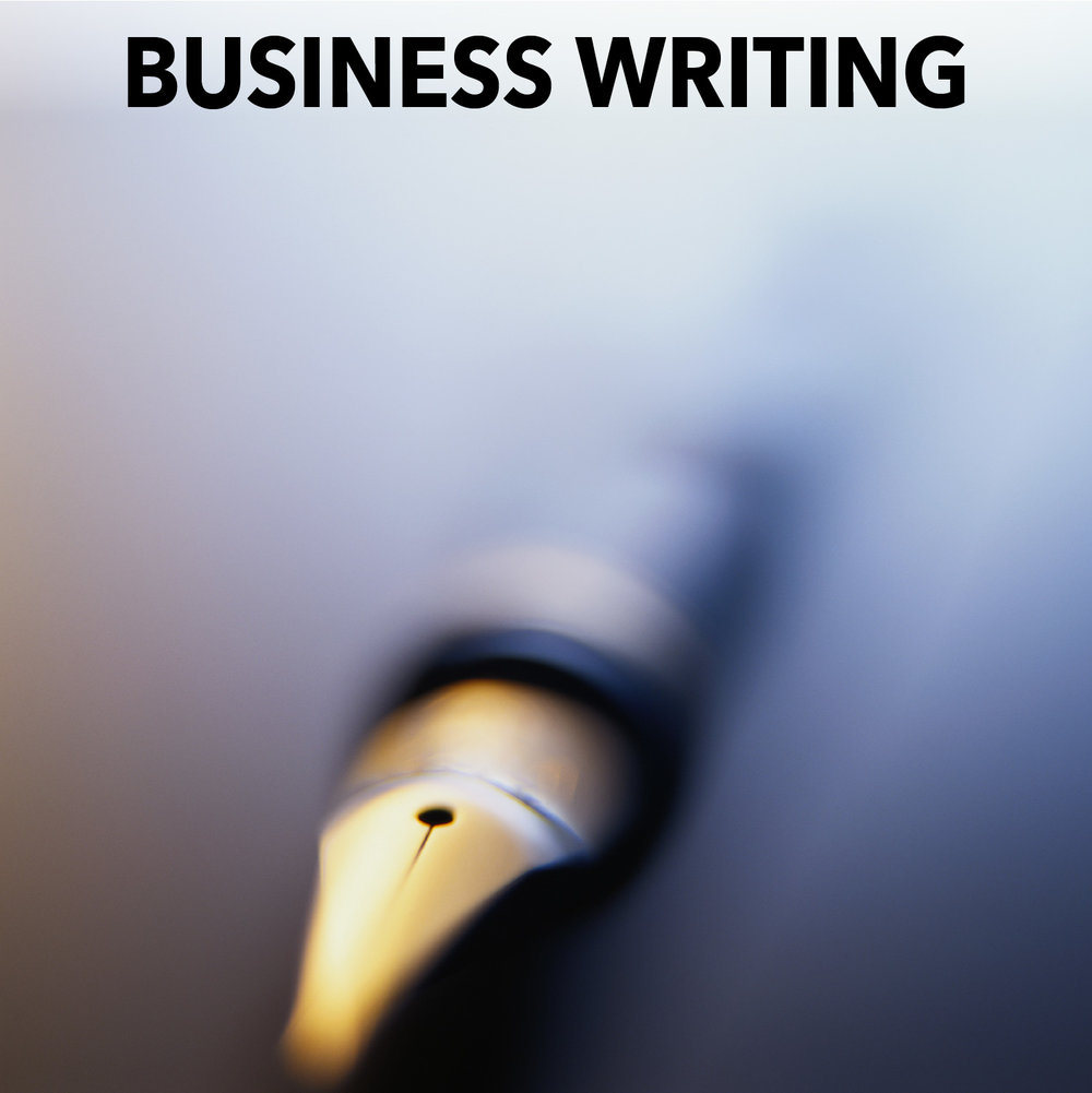 Business Writing Training