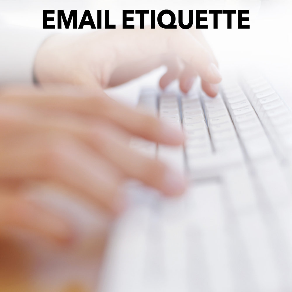 Email Etiquette Training