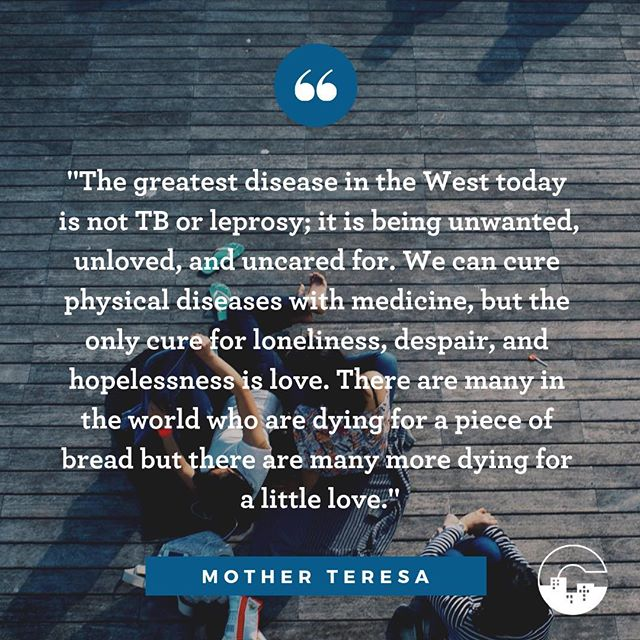 Quote of the day - this one from Mother Teresa.