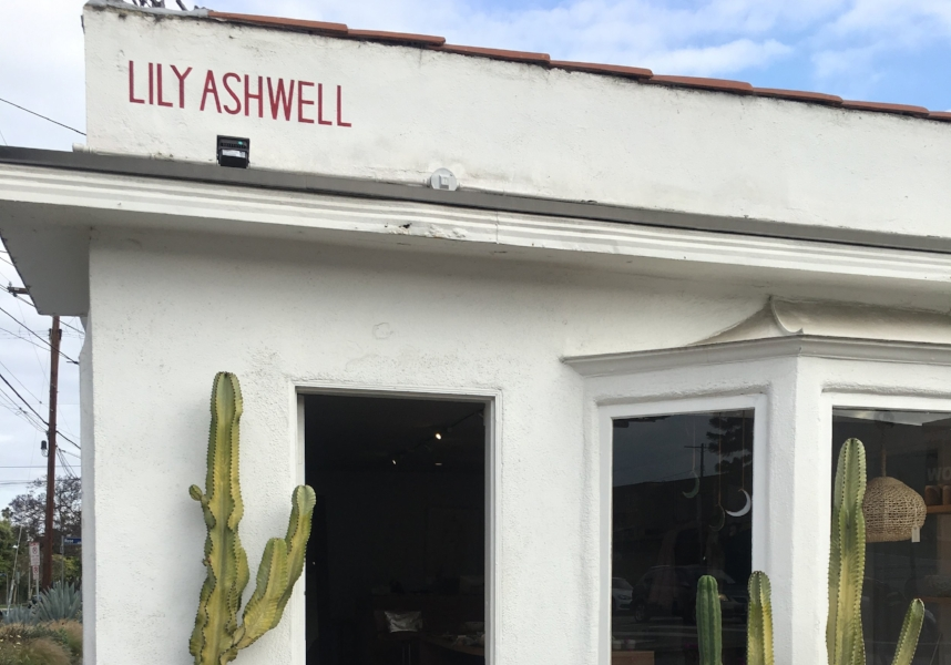 Lily Ashwell Storefront, Venice