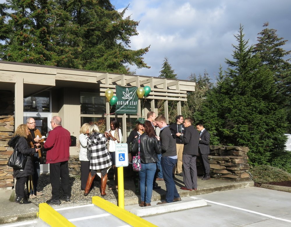 We had a great time with all our new fans and customers at Higher Leaf Bellevue!